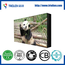 55 inch high resolution ultra narrow bezel lcd projection walls