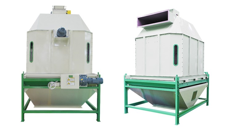 Money Saving Animal Feed Pelleting Cooling Machine with CE and ISO