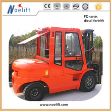 4ton Diesel Forklift, Load Capacity 4tons, with Side Shift