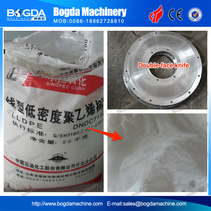 MF Disc Type Plastic Pulverizer for PP PE PS