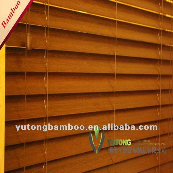 Сделать шторы из бамбука