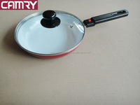 detachable handle aluminum fry pan with ceramica coating