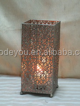 tall metal decorative candle lanterns