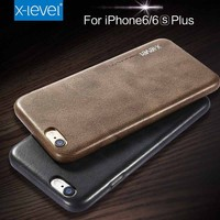 China Factory Vintage PU Leather Mobile Phone Case For iPhone 6S 6 Cover