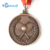 Commemorative metal award medal of honor with lanyard