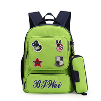 Chinese supplier Adult zipper personalized kids backpacks For school