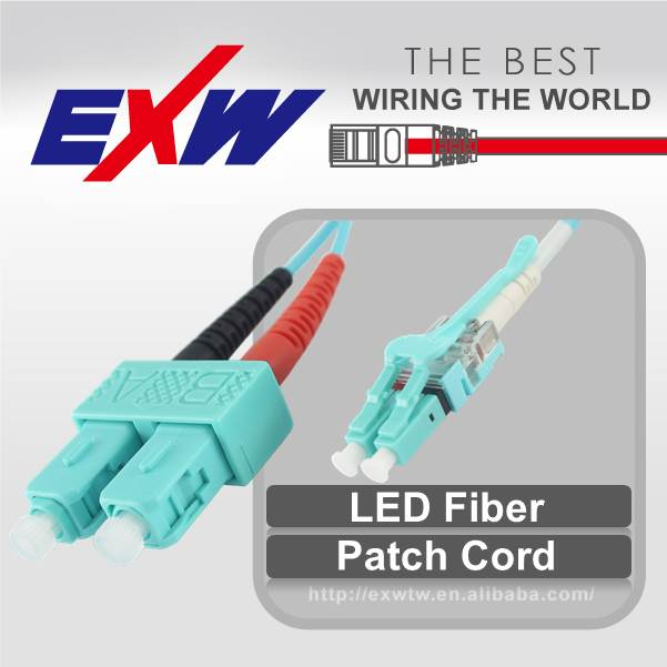 Best factory sale 10g sfp high quality network fiber optic patch cord