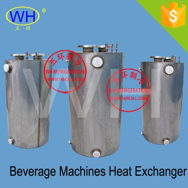 Stainless steel Shell And Tube heat exchanger, stainless steel coil heat exchanger