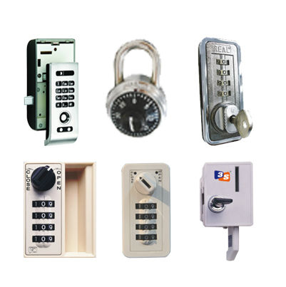 Locks for Lockers and Cabinets