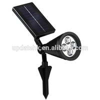 HOMEAN LED spotlight outdoor solar led garden lights spotlight
