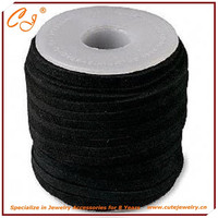 3mm suede cord black diy jewelry supplies from cute jewelry ebay hotsale 100 meters