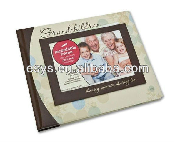 OEM voice recordable photo picture frame
