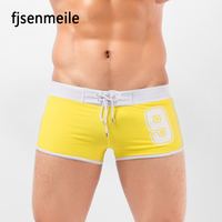 China 2018 New Design Man Swim Brief Hot Sale Men BeachWear Sexy Mens Swim Trunks