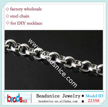 Beadsnice ID 22358 <strong>Stainless</strong> to make jewelry rolo steel chain