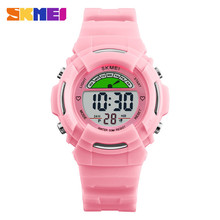 Skmei 1272 colorful childhood Christmas gifts led watch boy and girl kids sports wristwatch