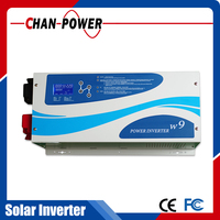 solar inverter 3kva 48vdc 60A solar charger connect 3000w solar panel