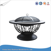 Indoor Steel Charcoal BBQ Fire Pit