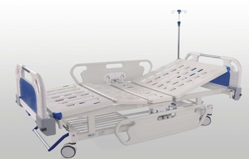 Yongxing A04-011Adjustable Cheap Medical Manual Two Function Hospital Bed For Sale