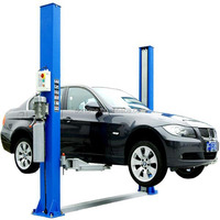 Two post hydraulic car lift for car wash with CE certification