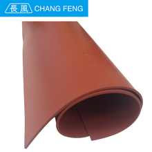 Custom Thickness 1mm-10mm red color silicone sheet
