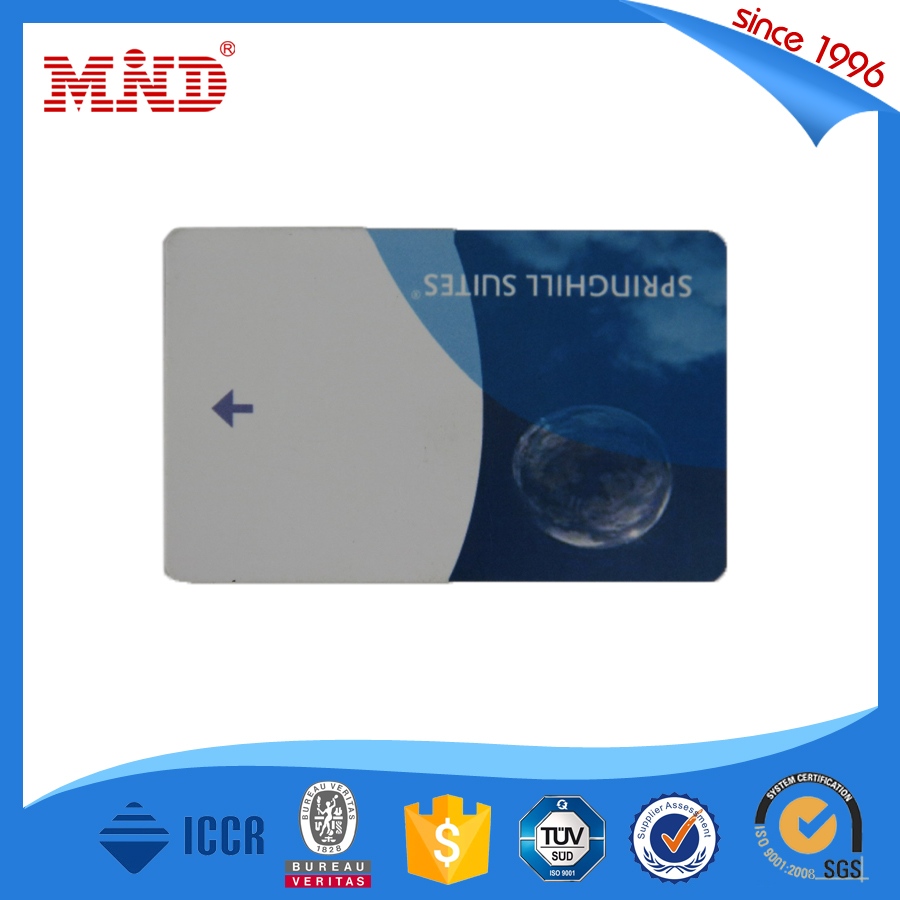 MDH25 Big discount!Customized magnetic card/hotel key card