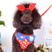 Soft Star Pattern Cartoon Candy Bear Easy Walker Pet Harness for Dog