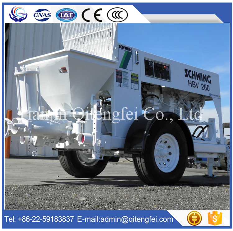 Good Performance 20m3/h Small Diesel Concrete Pump For Sale