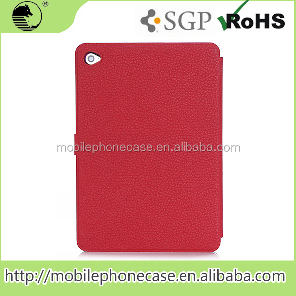 Original Factory Price Decoration Tablet Case For iPad Pro 12.9 RED