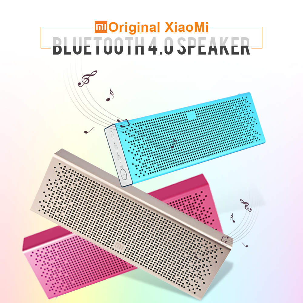 Original Xiaomi Mi Bluetooth Speaker Portable Wireless Mini Loudspeaker Aux in Mic TF Card Pocket Audio for IPhone Android Phone