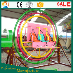 6 seats rotating human gyroscope, thrilling 3D space for sale