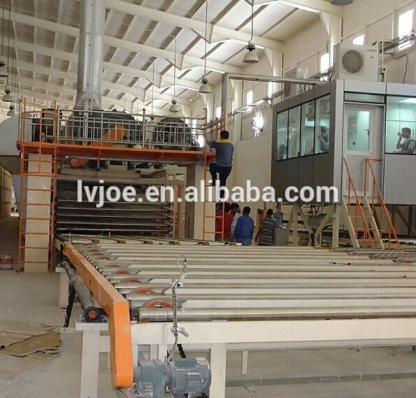 good performance gyspum board/sheets making machines