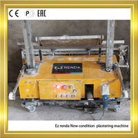 Ez renda 2014 new type wall plastering machine rendering costs with concrete machinery