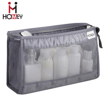 Designer Clear Travel Makeup Bag Organizer Cosmetic Bags