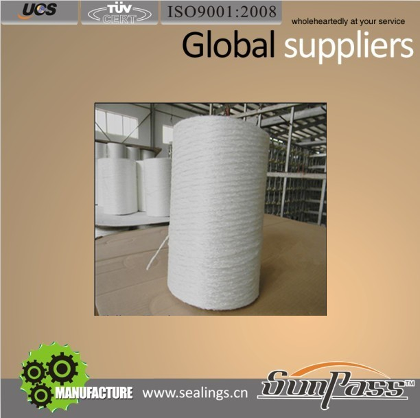 High Strength Personnel Protection Plain Fiberglass Yarn Glass Fiber Yarn 2400 Tex
