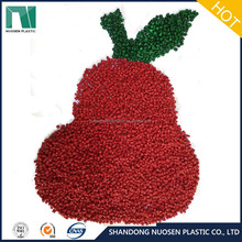anti aging bright red color masterbatch for plastic shopping bags