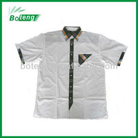 100% cotton latest shirt designs for men