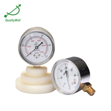 Hot wholesale mini air low pressure gauge with PC lens