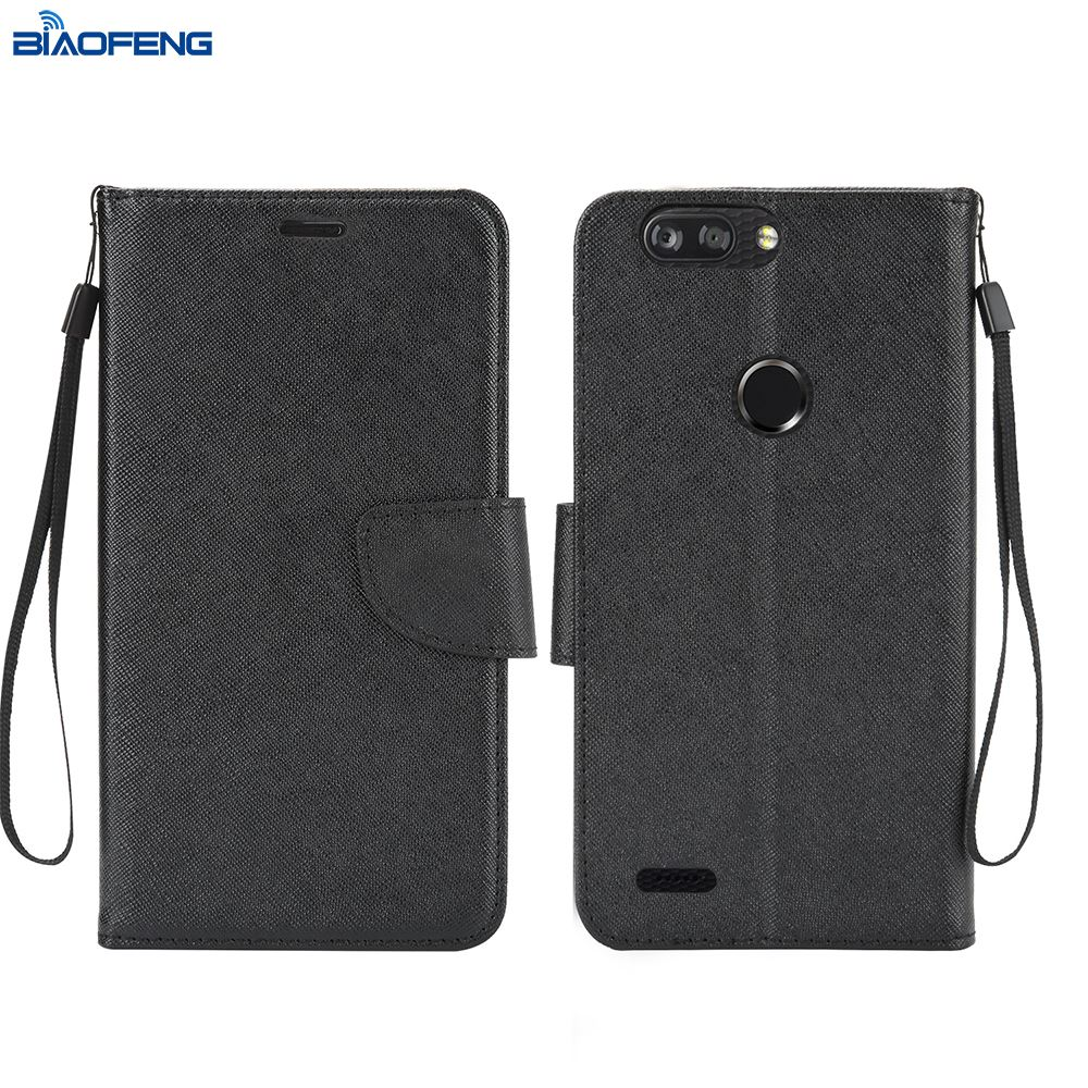 2018 Free Sample Cover Leather Online Store Wholesale Cell Phone Case For Zte Sequoia Z982,Zmax Pro 2