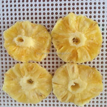 AD air dried fruit well preserved dry pineapple ring for sale