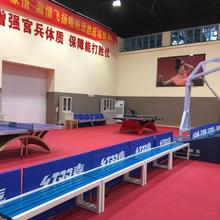 Widely used pvc table tennis court mat flooring in roll