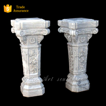 Natural Stone Pillars, Decorative Roman Art Pillar for sale (YL-L194)