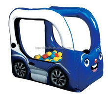 Funny pvc inflatable car Ball Pit Play Center for kids