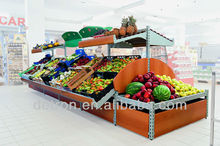 Big Mall Supermarket Fruit Display Stand
