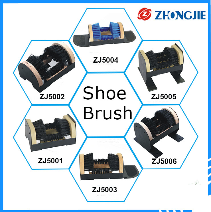 Wholesale From China Wooden Plastic Bristle Hair Boot Shoe Brush
