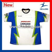 Healong Dye Sublimated No Moq Tournament Fishing Shirts