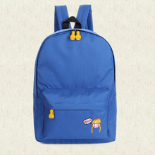 Blue custom kids back pack