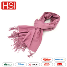 Factory supply newest custom fashion long beautiful high quality cotton warm lady scarf