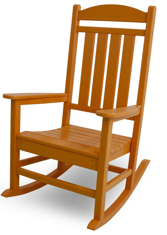 Home Garden Antique Wooden Rocking Chair Outdoor For Adults