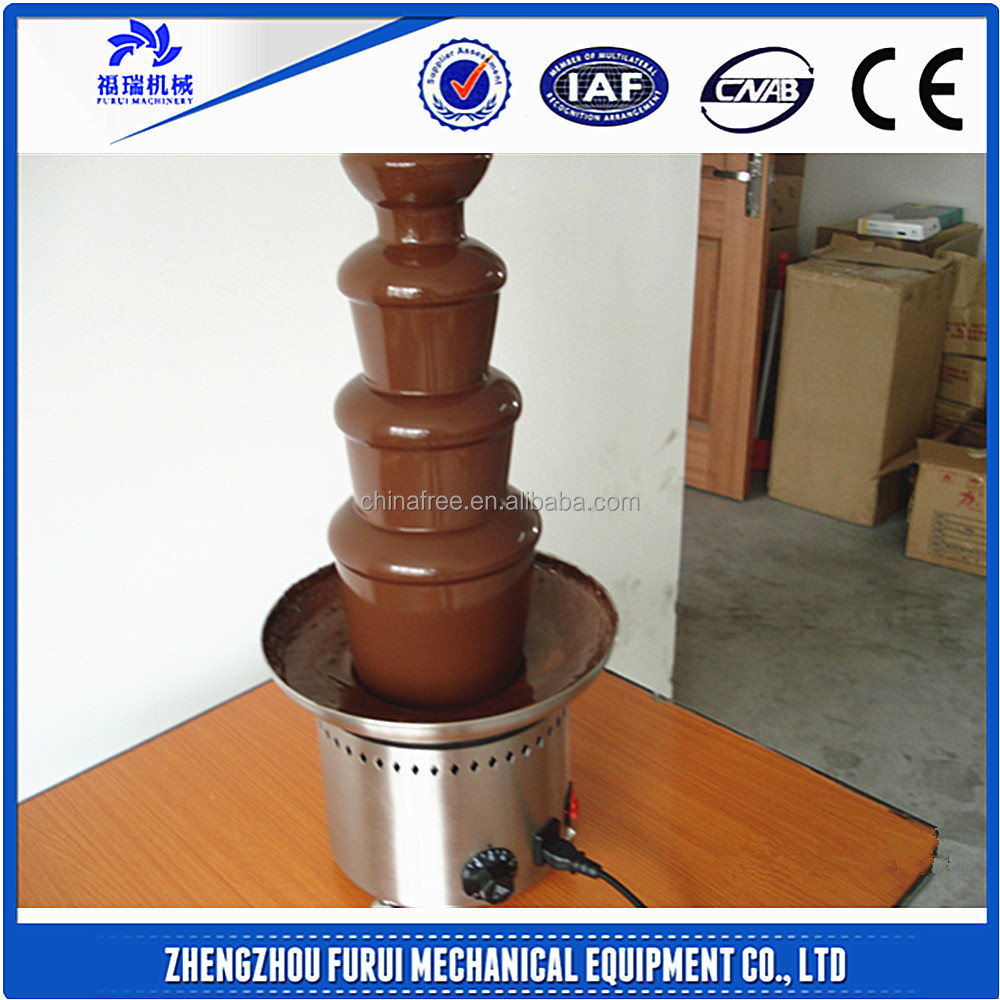 Stainless steel 4-tier chocolate fountain/CHOCOLATE DISPENSOR & FOUNTAIN with best price