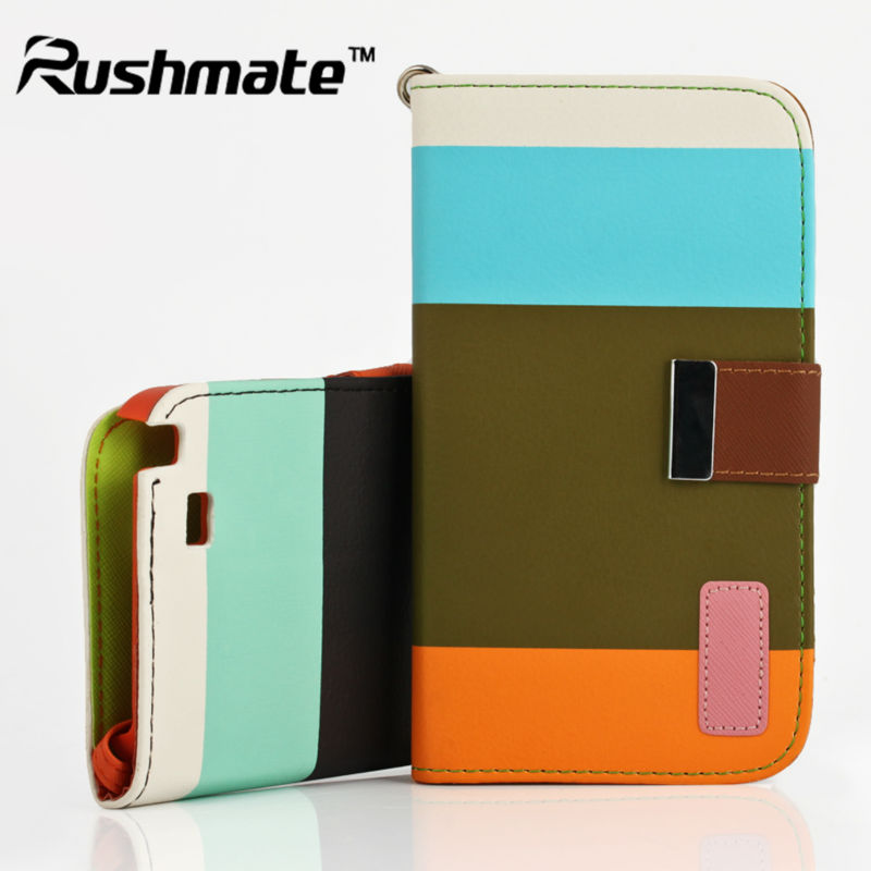 For Samsung Galaxy Note2 N7100 Fashion Attractive Credit Card Wallet Case Leather Pouch
